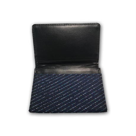 西陣織名刺入れ 紺(商品番号:030801)