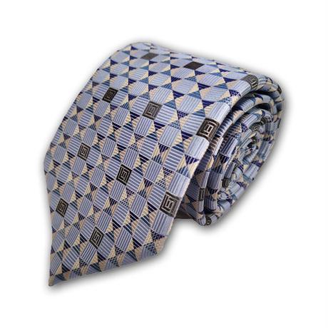西陣織ネクタイ ブルー(商品番号:050901)