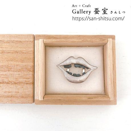 騎西屋/お歯黒べったり/帯留(kisaiya_obi_07)