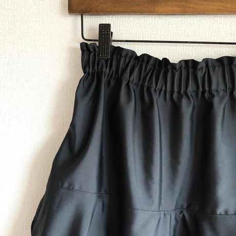 スカートパンツ(ブラック)