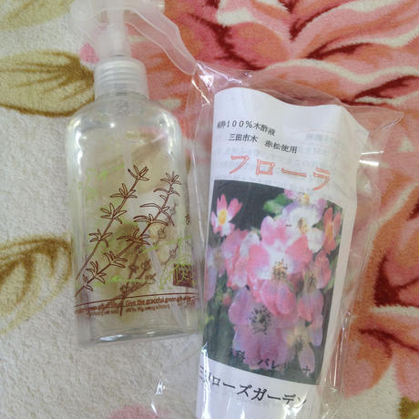 フローラ(赤松100%使用 木酢液)