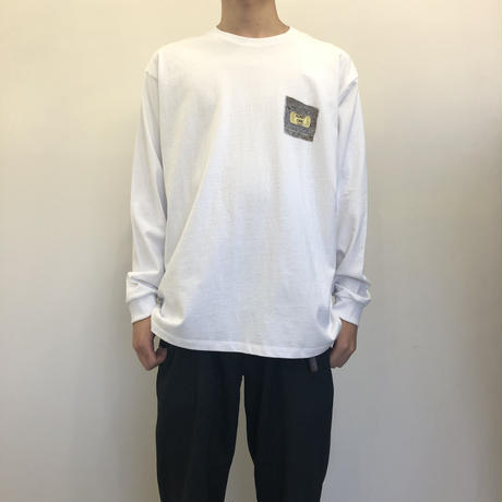 Colin Sussingham L/S tee White