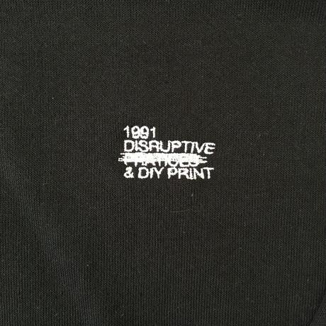 1991 Disruptive Logo Crewneck Black