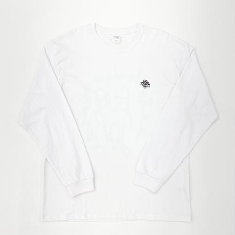 "Steffen Grap  ""Slinky L/S Tee"" for SALT AND PEPPER White"