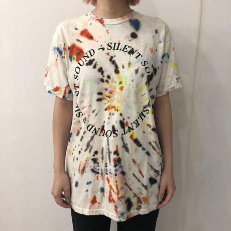 Silent Sound S/S Circle Tee Hand Dye -Melt Down- Mサイズ