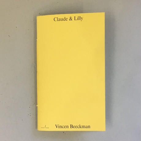 "Vincen Beeckman ""Claude & Lilly"""