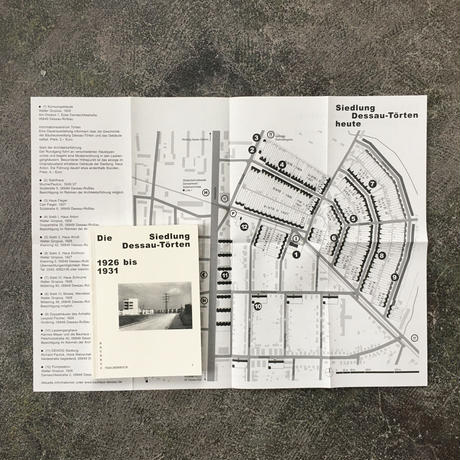 DIE SIEDLUNG DESSAU  TORTEN 1926 bis 1931-Bauhaus Taschenbuch 7-German Edition