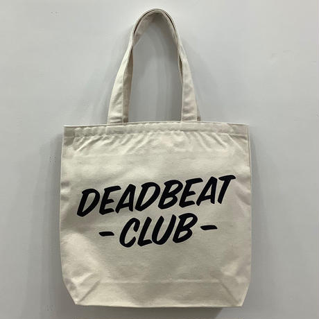 Deadbeat Club Tote Bag w/Pocket