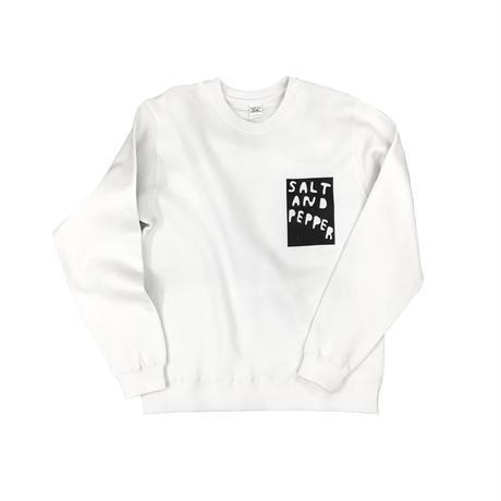 SALT AND PEPPER Sweatshirt / White