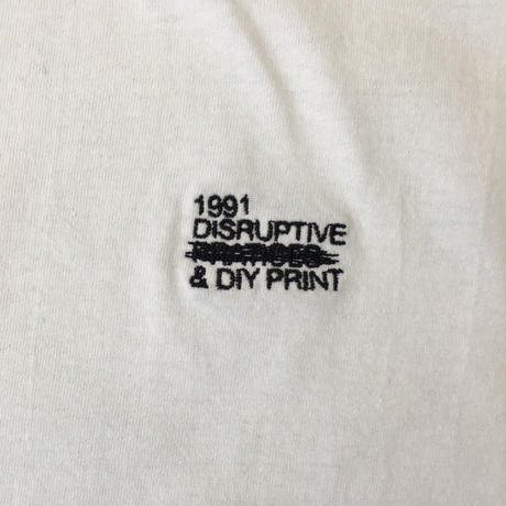 1991 Disruptive Logo T-shirt White