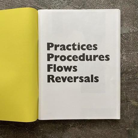 PRACTICES PROCEDURES FLOWS REVERSALS