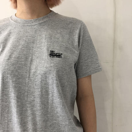1991 Disruptive Logo T-shirt Grey