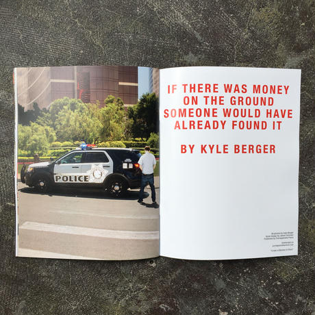 "Kyle Berger ""If There Was Money on the Ground"""