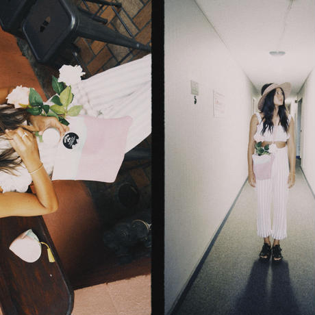 【BRIXTON WOMENS】SON JOSE/バンドゥトップス / COLOR:OFFWH