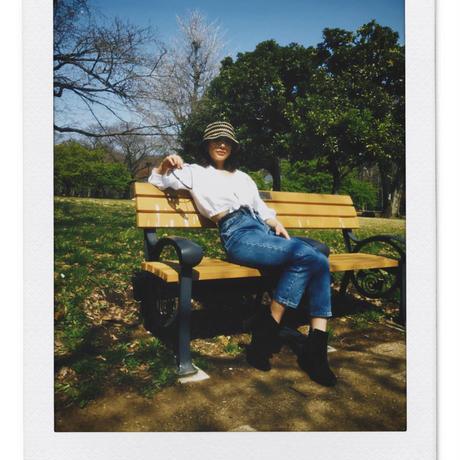 新色入荷!【BRIXTON WOMENS】ESSEX RAFFIA バケットハット / 色:BLACK SUNSET or TNBRN /