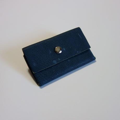2ポケットケース(茶、赤、青、ナチュラル)