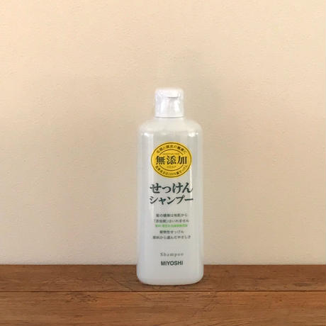 MIYOSHI|無添加せっけんシャンプー 本体 350ml