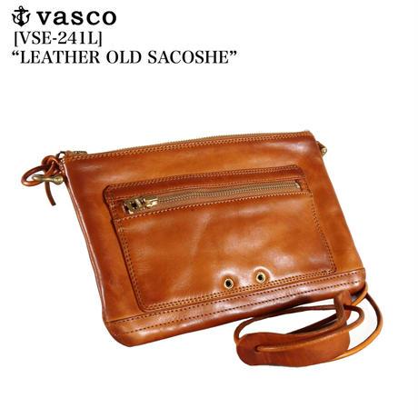 """vasco VSE-241L """"LEATHER OLD SACOSHE"""""""