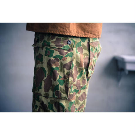 TCB jeans Crawling Pants / USMC M-44 (モンキーパンツ) Frog Sking camo