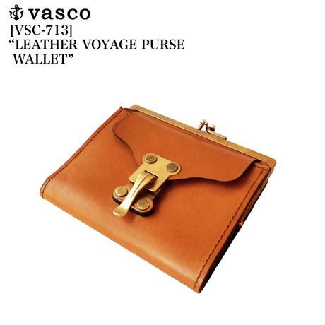 "vasco VSC-713 ""LEATHER VOYAGE PURSE WALLET"""