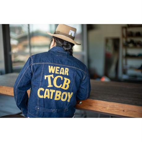 "TCB jeans ""WEAR YOUR CAT BOY JKT"""
