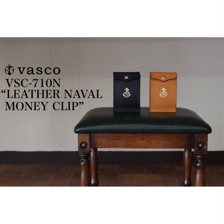 """vasco VSC-710N """"LEATHER NAVAL MONEY CLIP"""""""