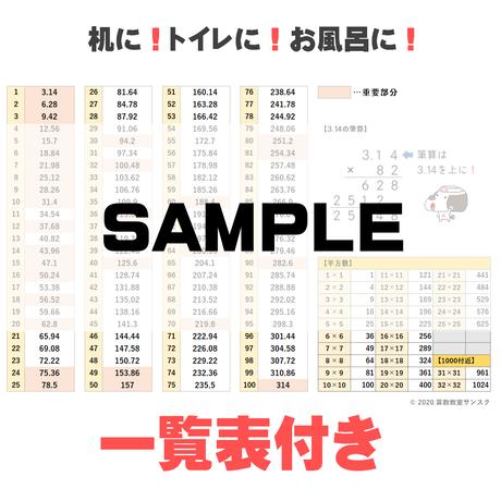 【一覧表付き】3.14計算マスタープリント_自動作成