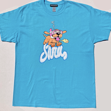 SWIMMING DAWG TEE [SKY BLUE]