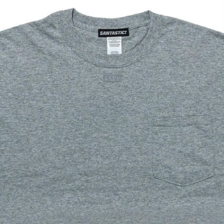 NECK BOX SARU Tee[GRAY]