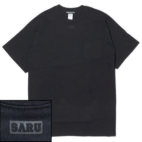 NECK BOX SARU Tee[BLACK]