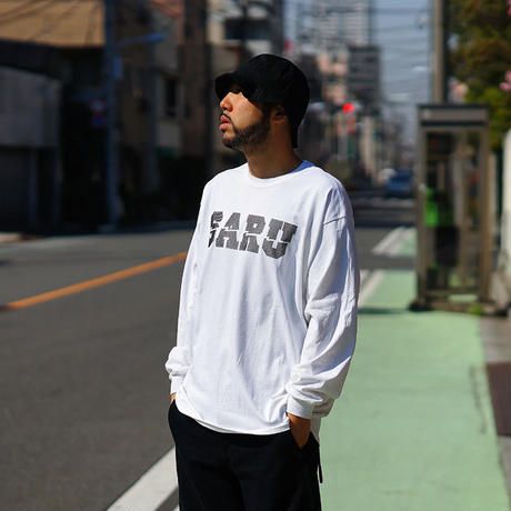 DOT SARU L/S Tee[WHITE]