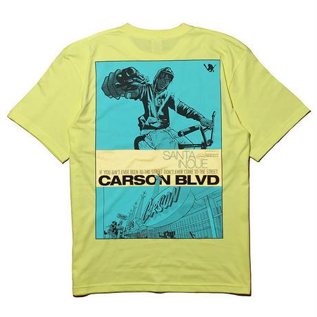 Carson Blvd Tee【YELLOW】