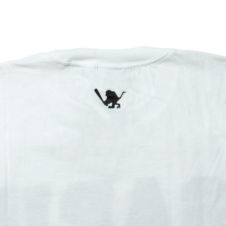 SARU Tee(袖ロゴ無し) [ホワイト]