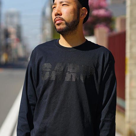 DOT SARU L/S Tee[BLACK]