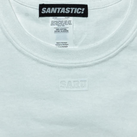 NECK BOX SARU Tee[WHITE]