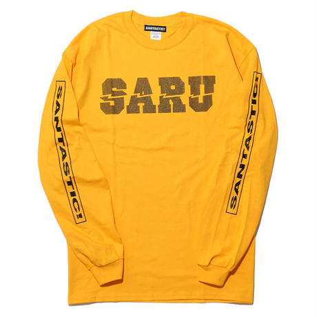 DOT SARU L/S Tee[YELLOW]