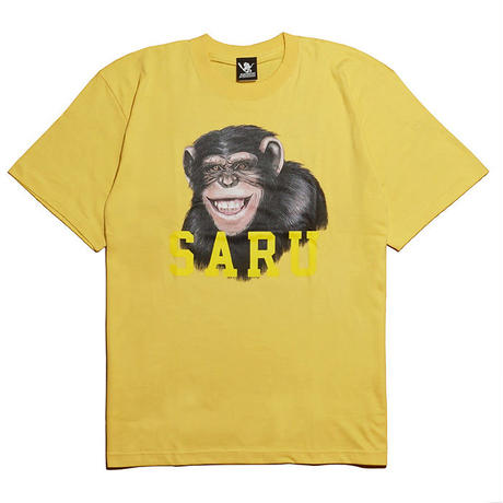 チンパンジーSARU Tee[YELLOW]