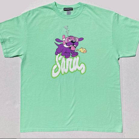 SWIMMING DAWG TEE [MINT]