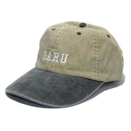 SARU 2トーンキャップ[BEIGExBLACK]