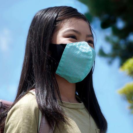 博多織立体型エチケットマスク『kurusyu~nai』 プロバー   NO.2「ブルー」