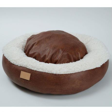 クッションベッド(丸形)ミルク