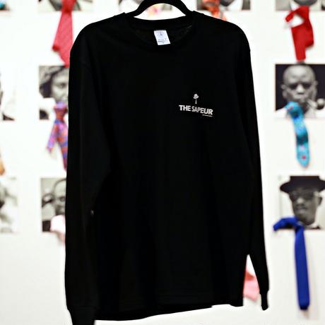 Unisex LONG T-Shirt / L01( ポートレート・ボディカラー=黒)
