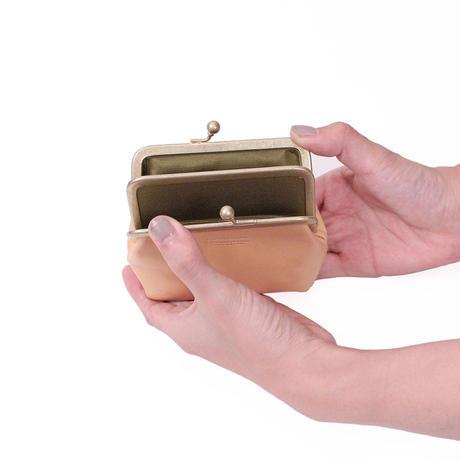 がま口財布 NATURAL(ブッテーロ)