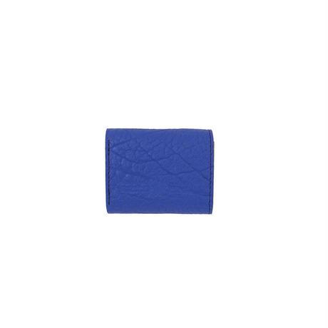 三つ折りサイフ BISON-BLUE