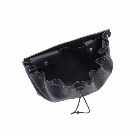 ドローストリングバッグ BLACK