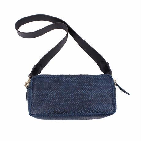 ティッシュボックスバッグ ミディアム BLUE