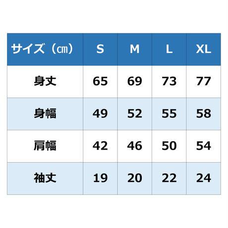 安齋肇デザイン/Tシャツ/ヘザーネイビー×ホワイトプリント