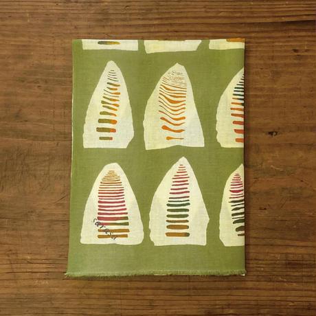 手ぬぐい [たけのこ] 黄緑 / Tenugui -Bamboo shoots -