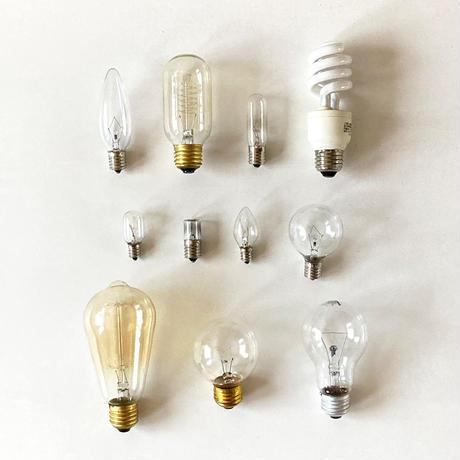 手ぬぐい [電球] 黄 / Tenugui -Light bulbs -