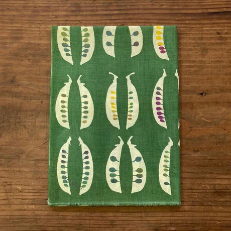 手ぬぐい [さやえんどう] 緑 / Tenugui -Field peas -